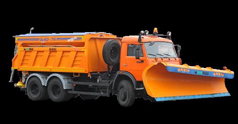 Машина дорожная комбинированная КО-829С3